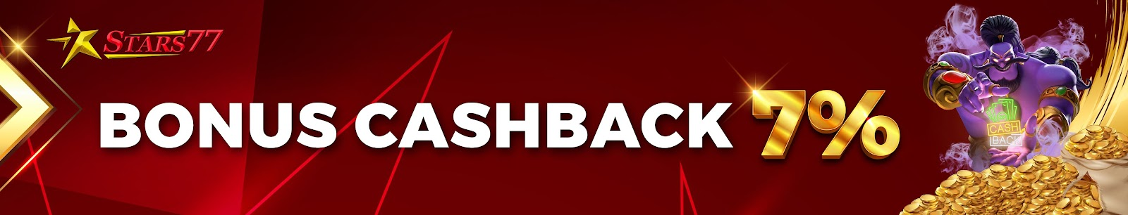 Cashback 7%