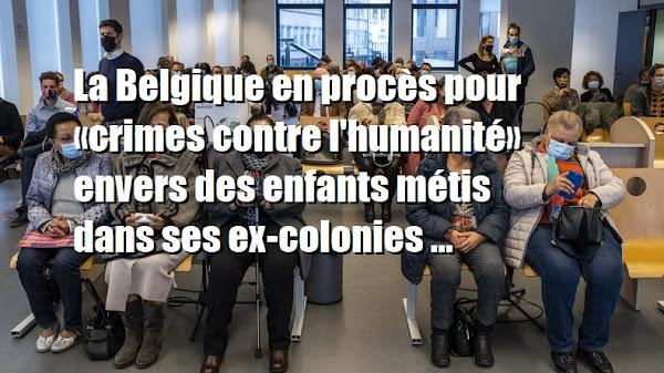 La Belgique en procès pour «crimes contre l'humanité» envers des enfants métis dans ses ex-colonies
