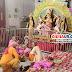 गिद्धौर : सर्वार्थ सिद्धि एवं समृद्धि की कामनाओं के साथ शरद पूर्णिमा पर दुर्गा मंदिर में हुई माँ महालक्ष्मी की आराधना