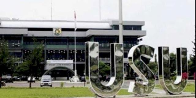 Puluhan Pengguna Narkoba Diamankan saat BNN Grebek Kampus USU Medan