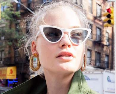 Classic Retro Vintage Cat Eye Sunglasses For Women