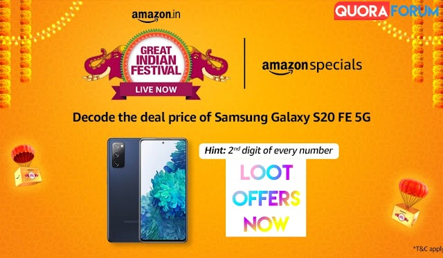 [Loot Discount Offer] Save Rs. 36000+ Off on Samsung Galaxy S20 FE 5G