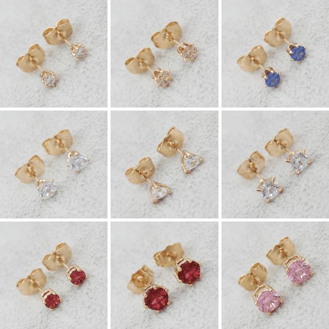 Серьги гвоздики (пусеты) Позолота/Мед Золото Xuping Jewelry ™ B2B