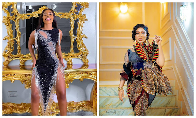 I Double dare you to release the alleged s!x tape of me- Jane mena lambast Tonto Dikeh