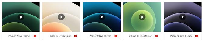 خلفيات ايفون 12 برو Max (المتحركة)