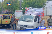 LSM Angling Darma Gelar Aksi Damai Di Mapolres Bojonegoro