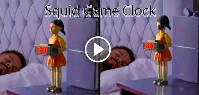 Squid Game Clock