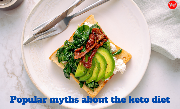 Popular myths about the keto diet