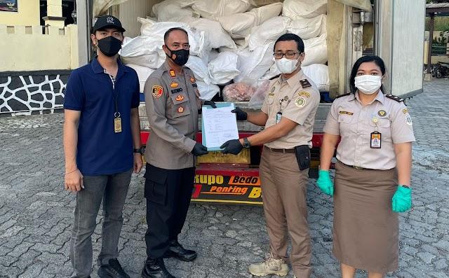 Insting, KSKP Bakauheni Kembali Amankan 160 Karung yang Diduga Daging Celeng Tanpa Dokumen