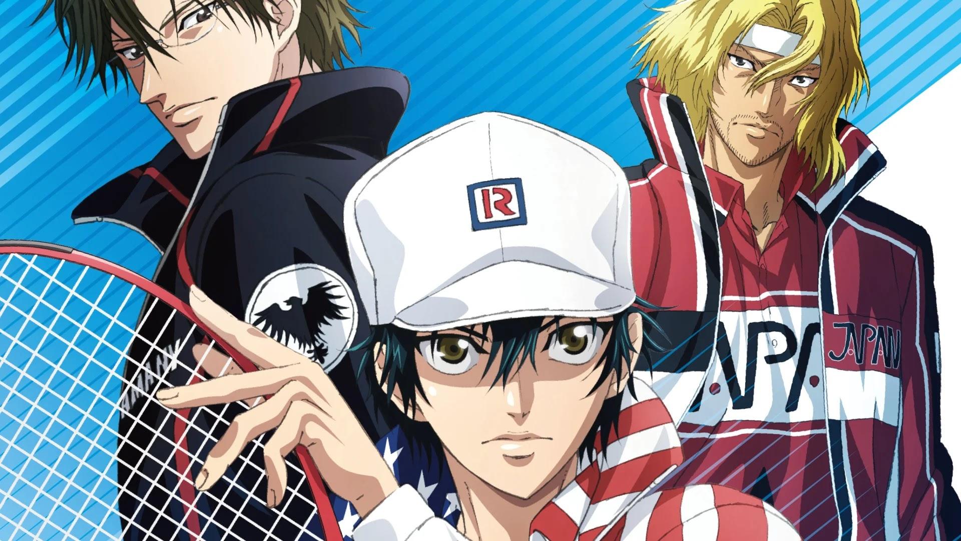 Novo Anime de Shin Tennis no Ouji-sama é Anunciado para 2022