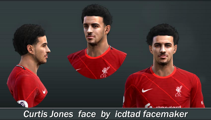 Curtis Jones Face For PES 2013