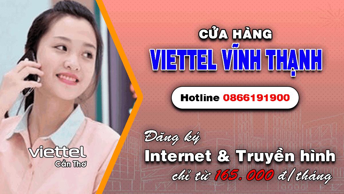 Cửa hàng Viettel huyện Vĩnh Thạnh