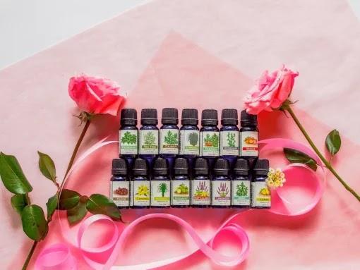 Aromatherapy essential oil set from Utama Spice