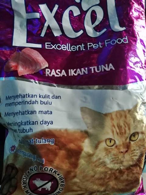 Review Makanan Kucing Excel