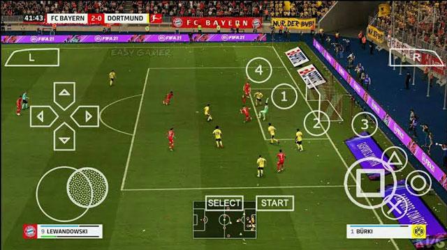 تحميل FIFA 22 PPSSPP ISO باخر الانتقالات والاطقم