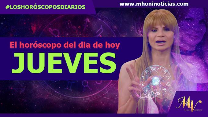 Los horóscopos de JUEVES 21 de OCTUBRE del 2021 - Mhoni Vidente