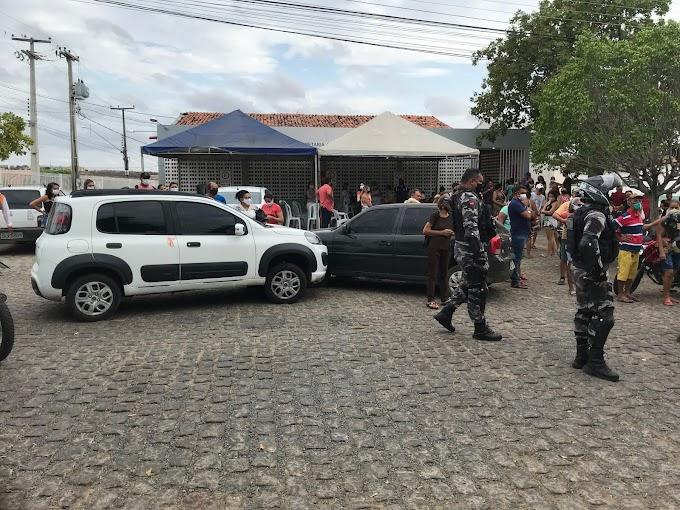 Popular é golpeado com canivete no centro de Cajazeiras nesta quinta-feira