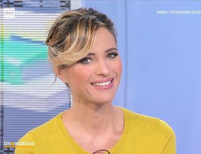 Monica Giandotti bella foto conduttrice Unomattina 26 ottobre 2021