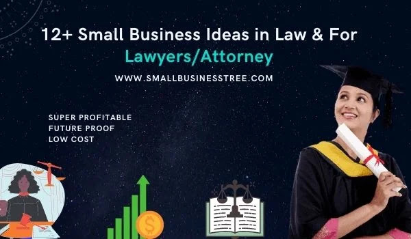 Small Business Ideas in Law & For Lawyers & Attorney