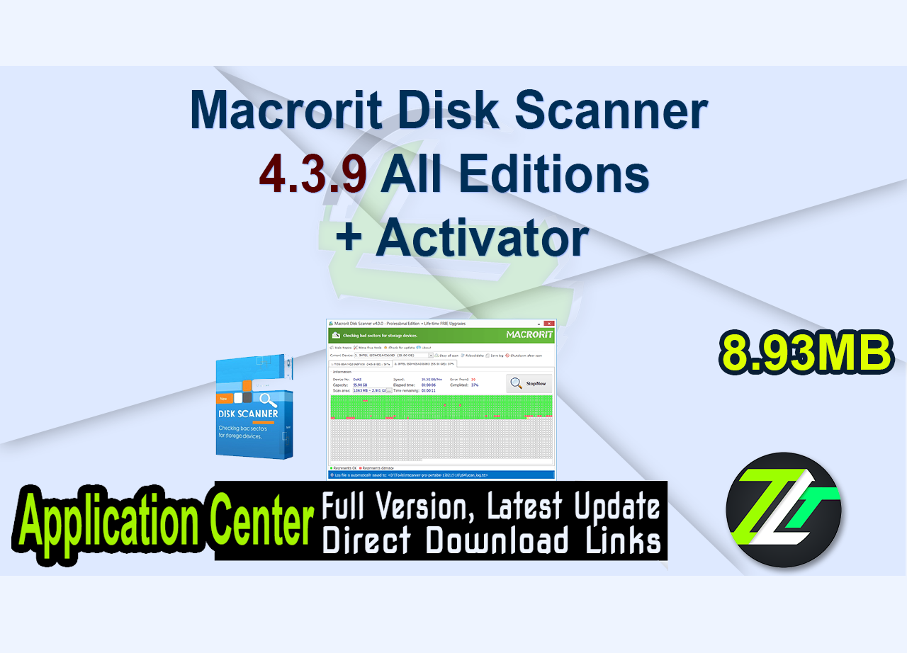 Macrorit Disk Scanner 4.3.9 All Editions + Activator