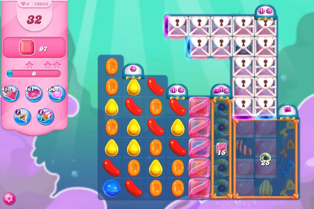 Candy Crush Saga level 10045