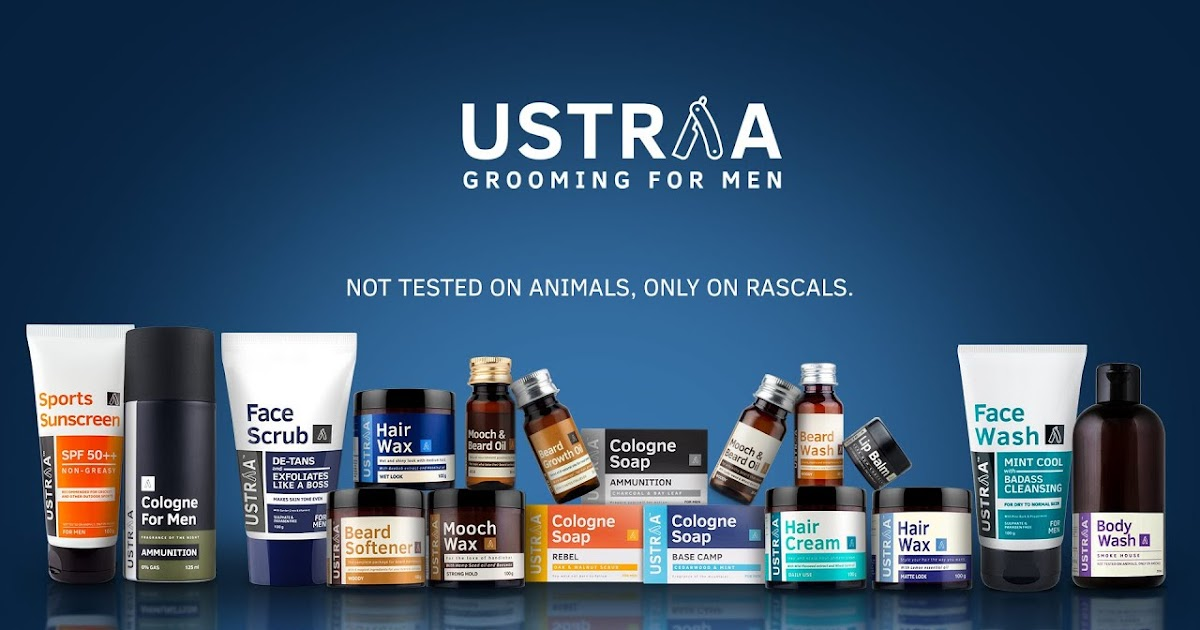 Ustraa - Grooming Products For Men