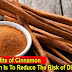 Myriad Benefits of Cinnamon, One of Which Is To Reduce The Risk of Diabetes