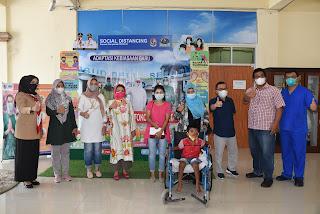 Pemkab Deli Serdang Lepas Pengobatan Ramadani Khorim ke RSCM Jakarta