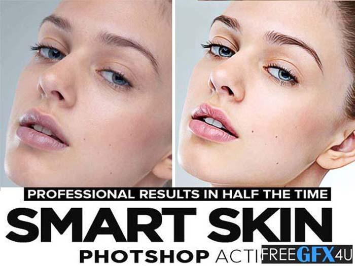 Smart Skin Retouching Actions