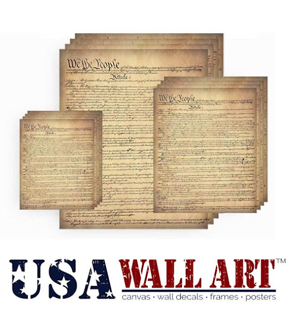 US Constitution Posters