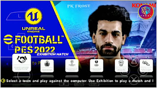 Download eFootball PES 2022 PPSSPP High Graphics Bar Name PS5 English Version & Update Final Transfer