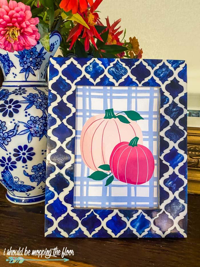Free Pink Pumpkins Printables
