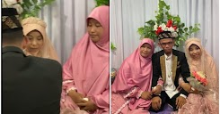 Sama-sama Atas Pelamin, Isteri Teman Suami Kahwin Lain & Siap Tolong Pakaikan Madu Gelang Emas