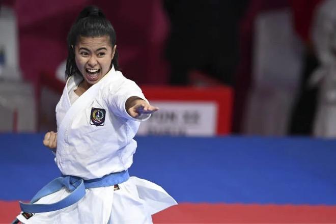 Tumbangkan Jatim, Karateka Putri Sulsel Raih Emas di PON XX Papua