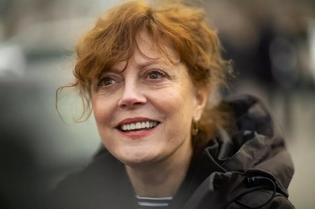 A tweet by Susan Sarandon against Israel is causing a stir in the communication sites