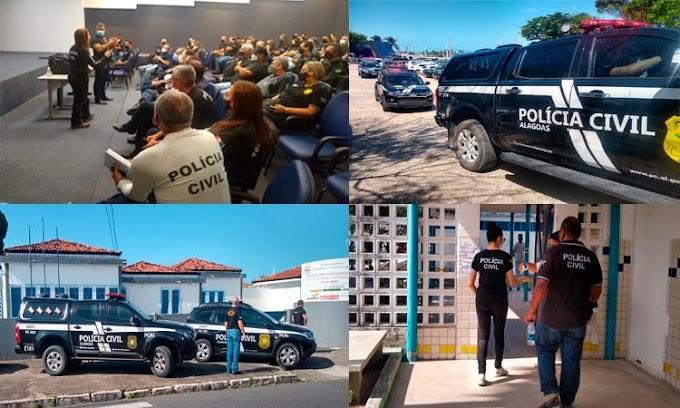 POLÍCIA CIVIL ATUOU NA SEGURANÇA DE CONCURSO DA SECRETARIA DA FAZENDA