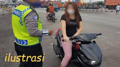 Geger Oknum Polisi Nakal di Tangerang, Wanita Langgar Lalin Tak Ditilang Malah Dimintai Nomor HP