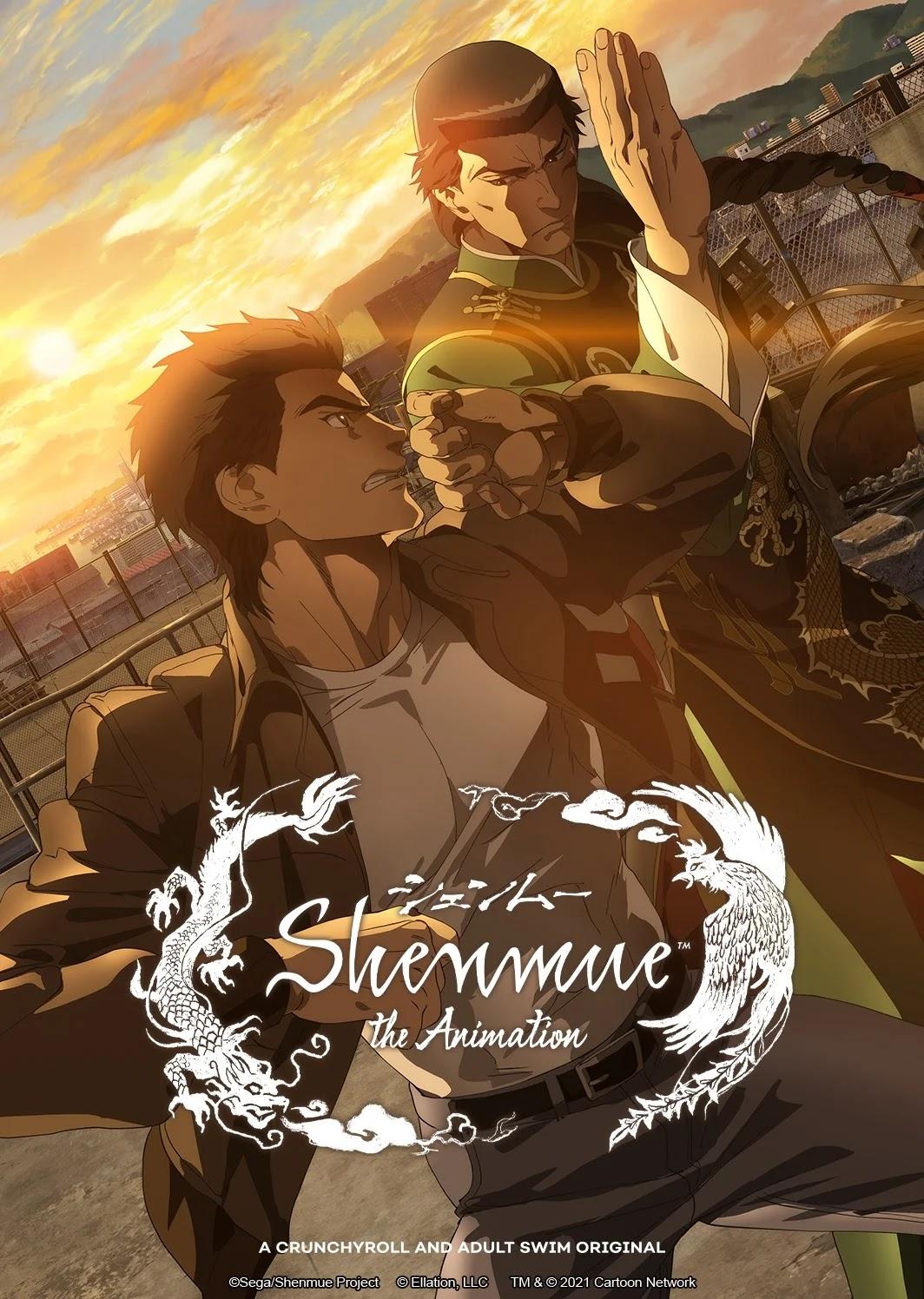 O Anime Shenmue The Animatio revelou seu Primeiro Vídeo Promocional