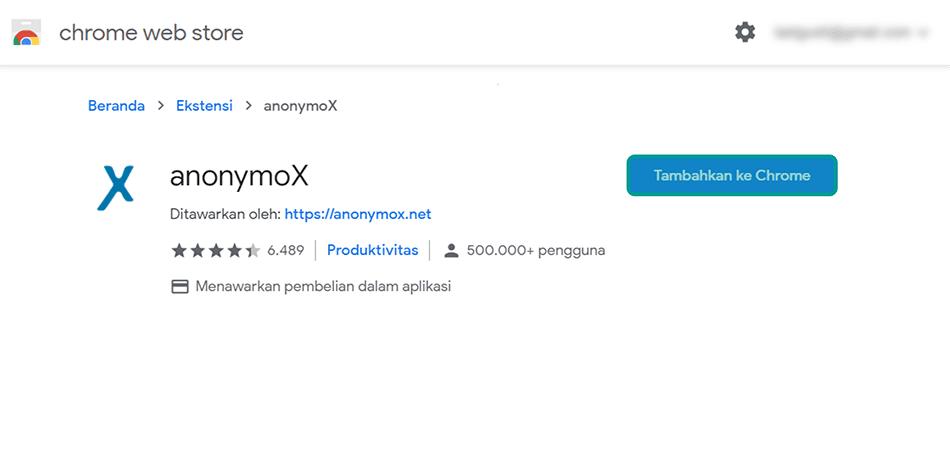Cara Mengatasi Anonymox Tidak Berfungsi