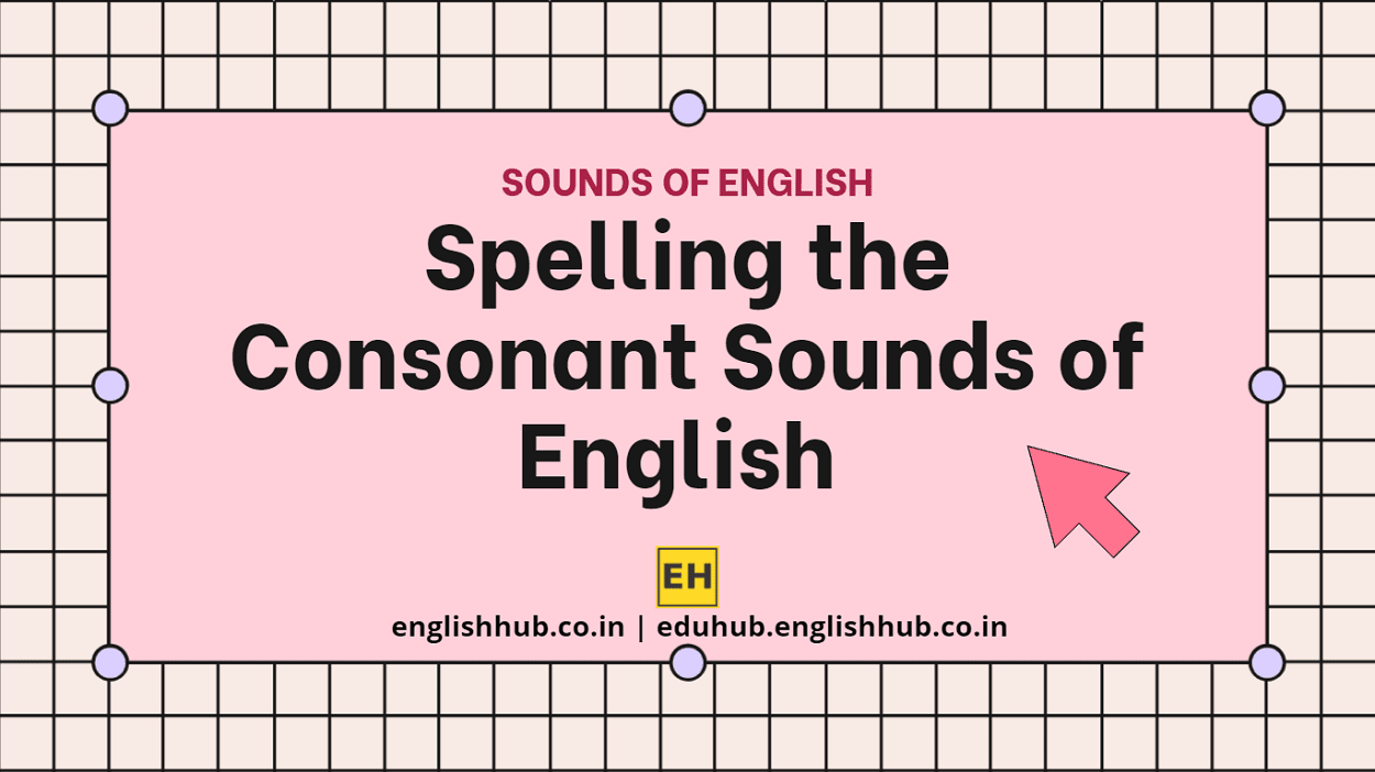 Spelling the 24 Consonant Sounds of the English Language   IPA Sounds