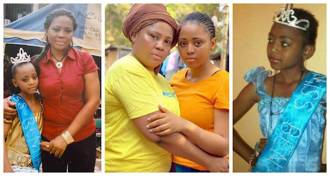 Check out the Throwback Photos of Regina Daniels and her mom (Photos)