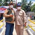 Sukseskan Pilkades Serentak 2021, Disdukpencapil Inhil H-1 Standby di Desa Karya Tani