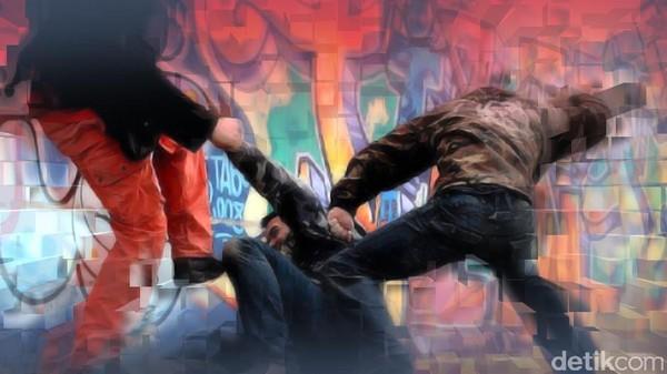 Syok Ditetapkan Jadi Tersangka, Pedagang Dipukuli Preman di Sumut Pingsan