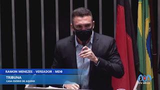 """""""Agentes tendo que entrar na justiça para conseguir seus direitos, é o reflexo da saúde em Guarabira"""". diz Ramon"""