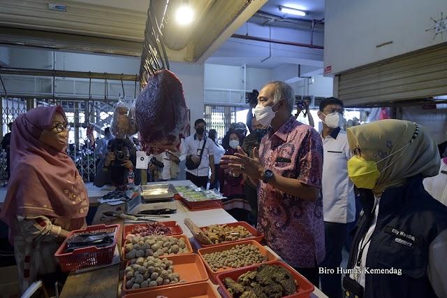 Implementasi PeduliLindungi akan Mendukung Operasional Pasar Rakyat