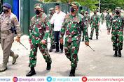Kunjungi Sulteng, Pangdam XIII Merdeka datangi Poskotis Ops Madago Raya