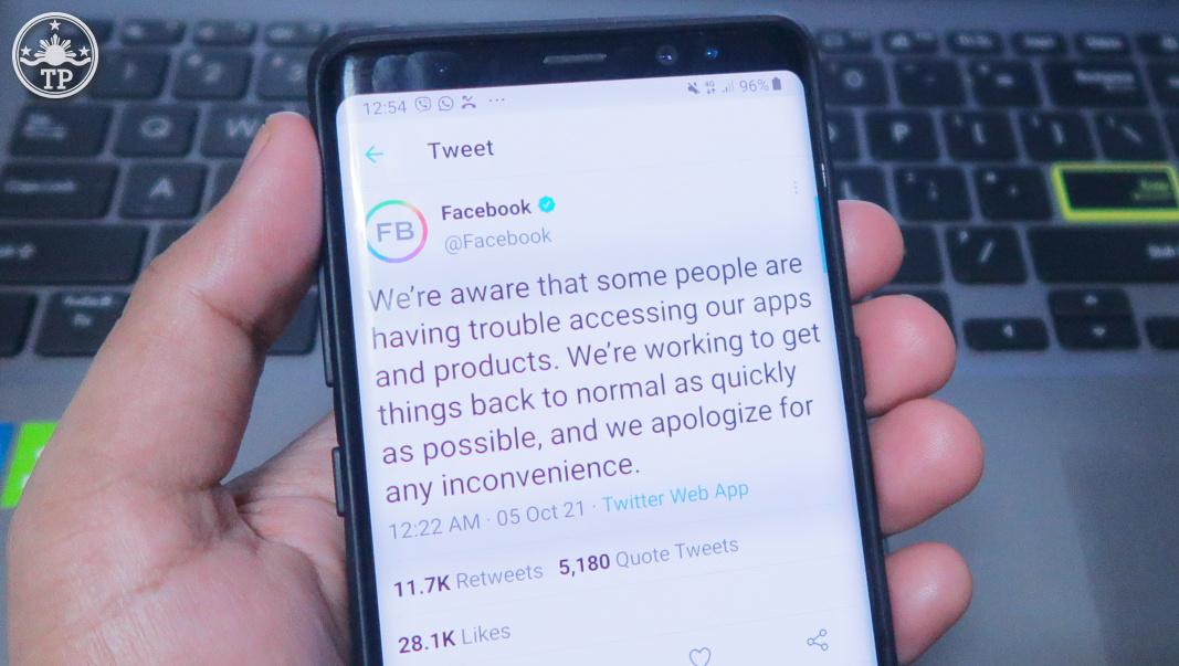 Facebook is Down, Instagram is Down
