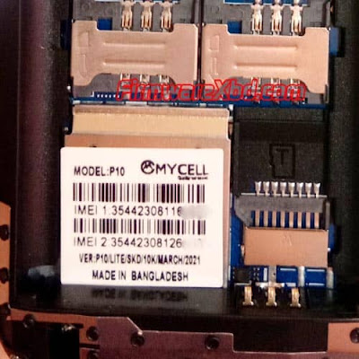 Mycell P10 Lite Flash File