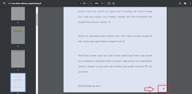 Cara Menambahkan Halaman di PDF (Add Page Number) Secara Online