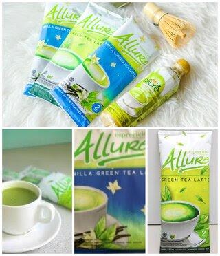 Teh hijau terbaik merk Allure Green Tea